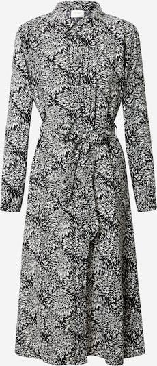 JACQUELINE de YONG Vestido camisero 'Barcelona' en negro / blanco, Vista del producto