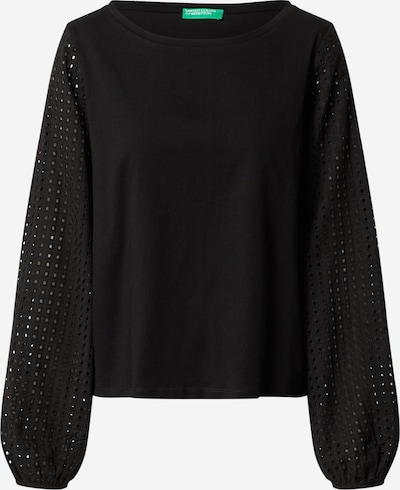 UNITED COLORS OF BENETTON Bluse in schwarz, Produktansicht