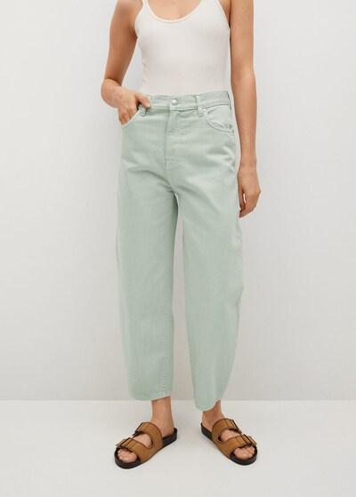 MANGO Jeans 'Antonela' in mint, Modelansicht
