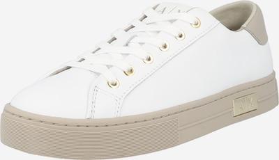 taupe / fehér ARMANI EXCHANGE Rövid szárú edzőcipők, Termék nézet