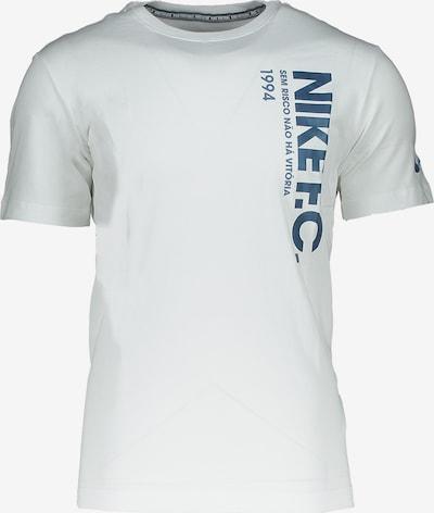 NIKE T-Shirt in blau / weiß, Produktansicht