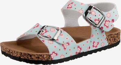 Happy Bee Sandalen für Mädchen in hellblau, Produktansicht