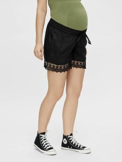 MAMALICIOUS Shorts in schwarz, Modelansicht