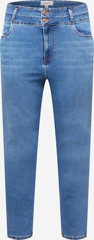 New Look Curves Teksapüksid, värv sinine