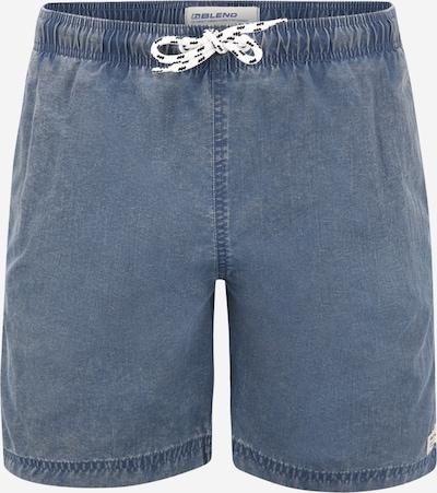 BLEND Shorts de bain en bleu denim, Vue avec produit