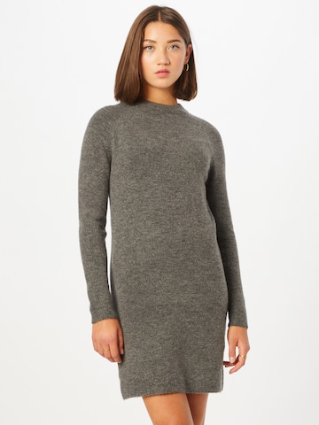 PIECES Knitted dress 'Chapa' in Grey