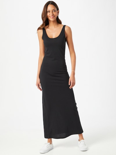 VERO MODA Jurk 'ANNA' in de kleur Zwart, Modelweergave