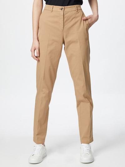 HUGO Chino trousers 'Hecia-1-D' in Light beige, View model