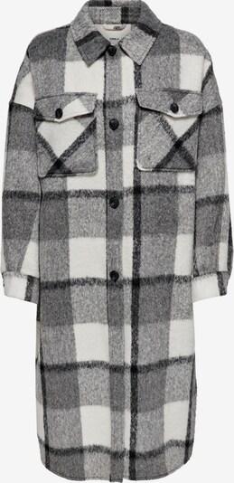 ONLY Prijelazni kaput 'Mia' u siva melange / bijela, Pregled proizvoda