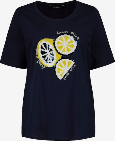 Ulla Popken Shirt in dunkelblau / mischfarben, Produktansicht