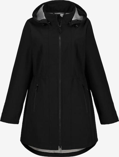Ulla Popken Tussenparka in de kleur Zwart, Productweergave