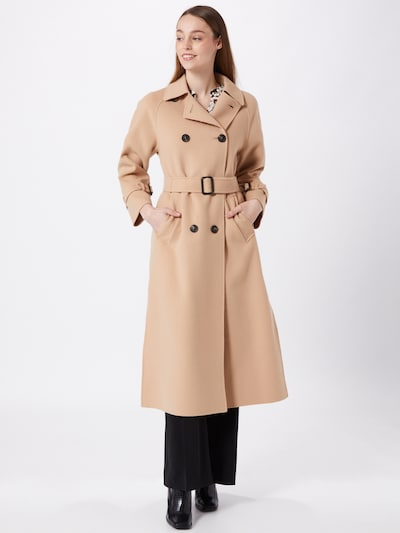 Weekend Max Mara Mantel 'POTENTE' in beige, Modelansicht