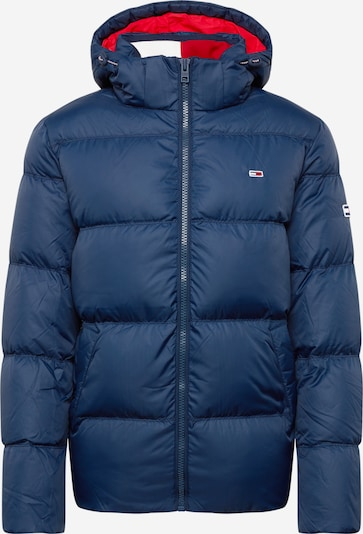 Tommy Jeans Winterjas 'ESSENTIAL' in de kleur Navy, Productweergave