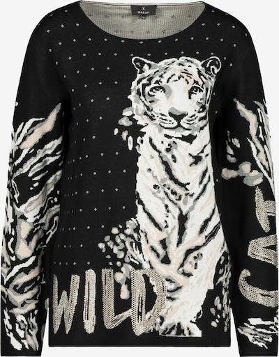 Pullover monari di colore beige / nero / bianco, Visualizzazione prodotti