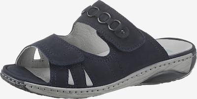 WALDLÄUFER Pantolette in dunkelblau, Produktansicht