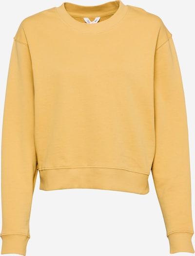 MELAWEAR Sweatshirt 'RATI' in de kleur Goudgeel, Productweergave