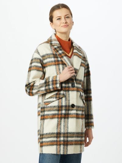 TOM TAILOR DENIM Mantel in beige / braun / schwarz, Modelansicht