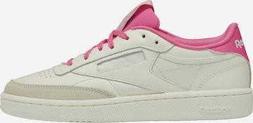 Sneaker low 'Club C 85' de la Reebok Classics pe alb