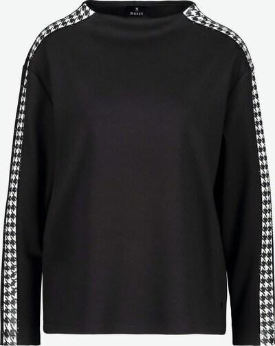 monari Sweatshirt in schwarz, Produktansicht