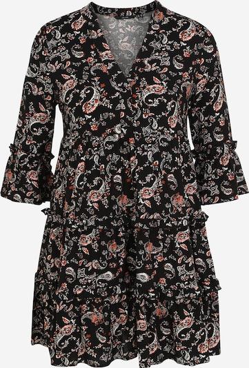 Vero Moda Petite Robe en orange foncé / noir / blanc, Vue avec produit