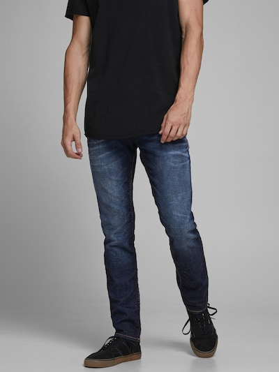 JACK & JONES Jeans 'Tim' in dunkelblau: Frontalansicht