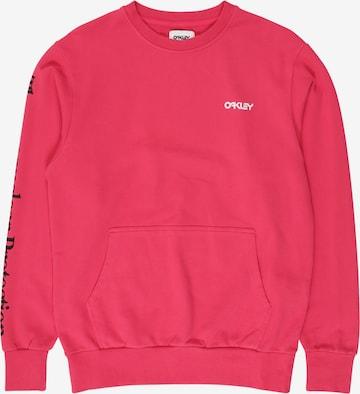 OAKLEY Sportsweatshirt i rosa