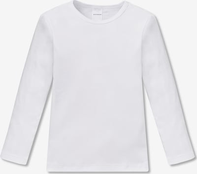 SCHIESSER Langarmshirt in weiß, Produktansicht
