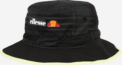 ELLESSE Hut 'Borlia' in orange / rot / schwarz / weiß, Produktansicht