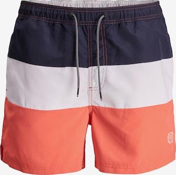 Jack & Jones Plus Ujumispüksid 'Bali', värv oranž