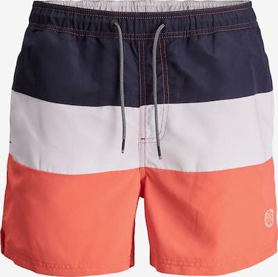 Jack & Jones Plus Plavecké šortky 'Bali' - noční modrá / lososová / bílá, Produkt