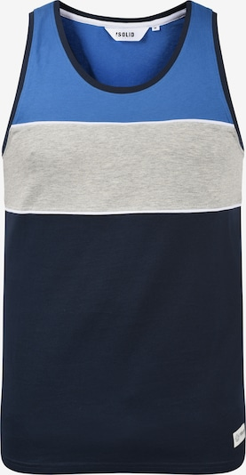 !Solid Tanktop 'Coby' in blau, Produktansicht