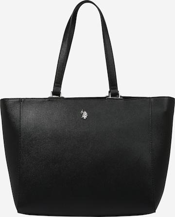 U.S. POLO ASSN. Torba shopper 'Jones' w kolorze czarny