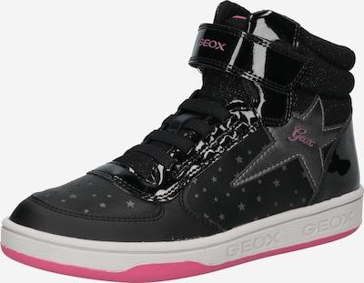 GEOX Sneaker 'Maltin' in grau / pink / schwarz, Produktansicht