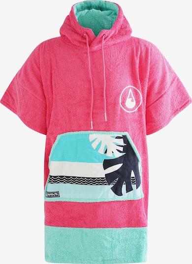 Wave Hawaii Peignoir court ' Pink Wave ' en rose, Vue avec produit