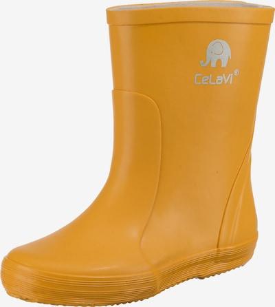 CELAVI Gummistiefel in gelb / grau, Produktansicht