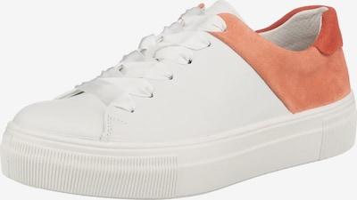 Legero Sneaker 'Lima' in koralle / weiß, Produktansicht