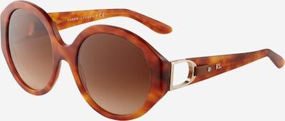 RALPH LAUREN Sonnenbrille '0RL8188Q' in rostbraun / dunkelbraun, Produktansicht