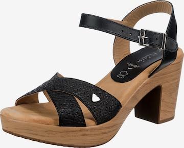 JANE KLAIN Sandalette in Schwarz