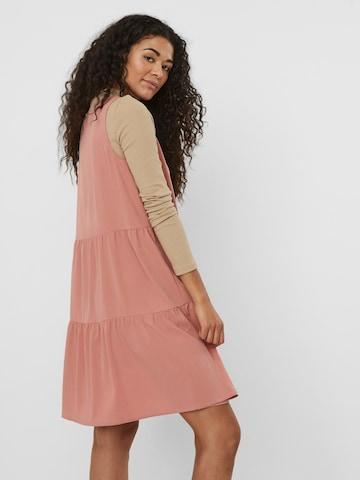 VERO MODA Mekko 'Olivia' värissä vaaleanpunainen
