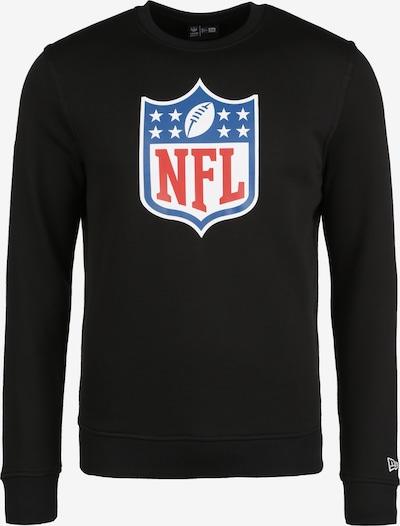 NEW ERA Sweatshirt in blau / rot / schwarz / weiß, Produktansicht