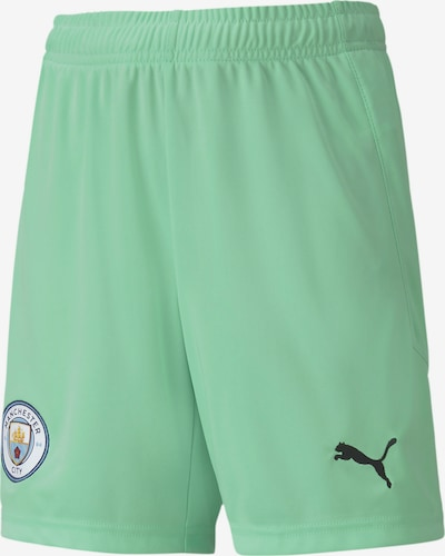 PUMA Man City Youth Replica Torwartshorts in hellgrün, Produktansicht
