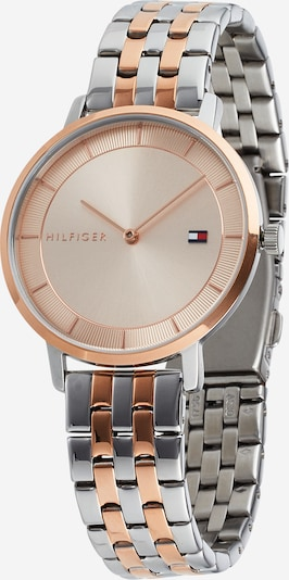 TOMMY HILFIGER Analog watch in rose gold / silver, Item view