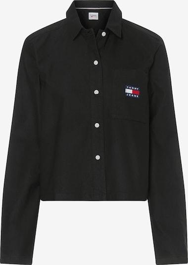Tommy Jeans Bluse in blau / rot / schwarz / weiß, Produktansicht