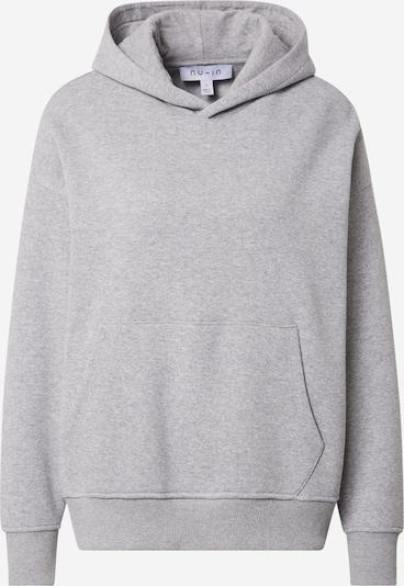 NU-IN Sweat-shirt en gris, Vue avec produit