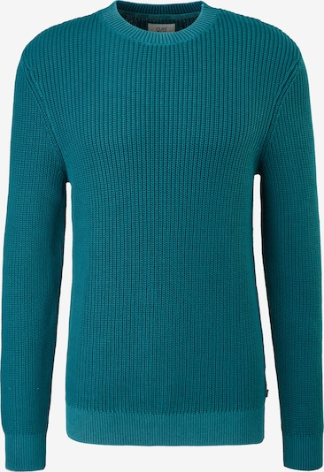 Q/S by s.Oliver Pullover in petrol, Produktansicht
