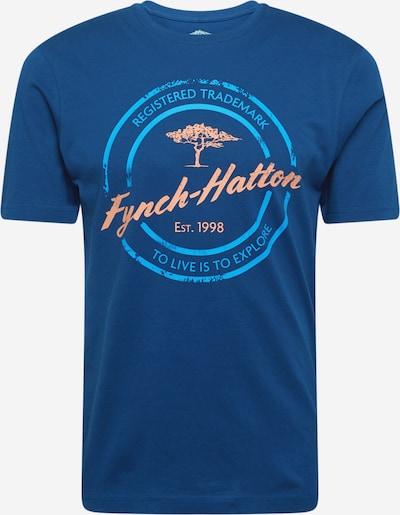 FYNCH-HATTON Shirt in Blue / Light blue / Pastel orange, Item view