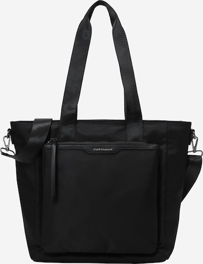 TOM TAILOR Shopper 'Viona' in schwarz, Produktansicht