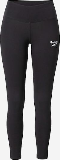 Reebok Sport Sporta bikses, krāsa - melns / balts, Preces skats
