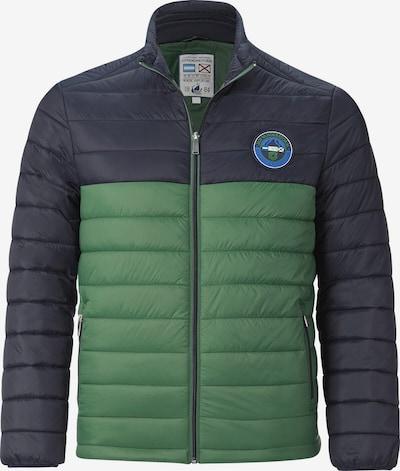 Jan Vanderstorm Tussenjas 'Tivadar' in de kleur Donkerblauw / Groen, Productweergave