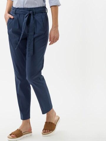 BRAX Chino Pants 'Milla S' in Blue